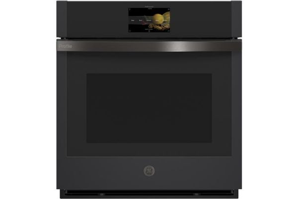 """GE Profile 27"""" Black Slate Built-In Convection Single Wall Oven - PKS7000FNDS"""