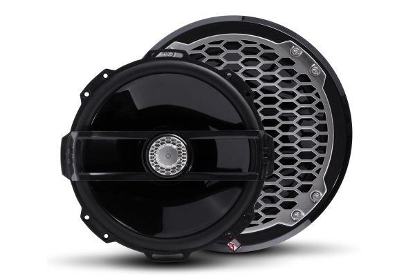 """Rockford Fosgate Punch Marine 8"""" Black Full Range Speakers - PM282B"""