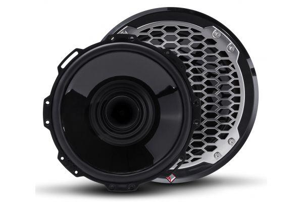 "Rockford Fosgate Punch Marine 8"" Black Full Range Speakers With Horn Tweeter - PM282H-B"