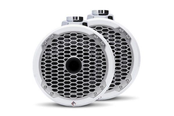 "Rockford Fosgate Punch Marine 8"" White Wakeboard Tower Speakers - PM282HW"