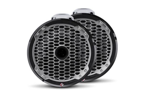 """Rockford Fosgate Punch Marine 8"""" Black Wakeboard Tower Speakers - PM282HW-B"""