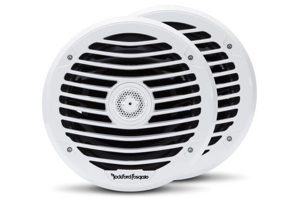 "Rockford Fosgate Punch Marine 8"" Luxury White Full Range Speakers - PM282X"