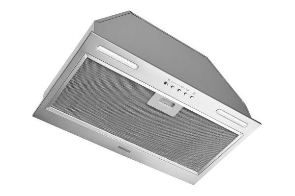 """Large image of Broan 20-1/2"""" 390 CFM Stainless Steel Custom Range Hood Power Pack - PM390SSP"""