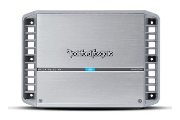 Large image of Rockford Fosgate Punch Marine 400 Watt 2-Channel Amplifier - PM400X2