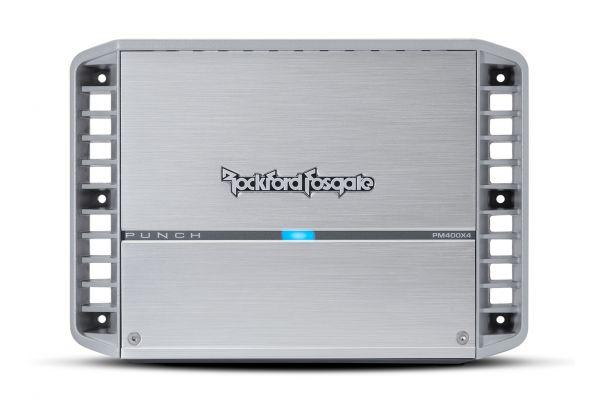 Large image of Rockford Fosgate Punch Marine 400 Watt 4-Channel Amplifier - PM400X4