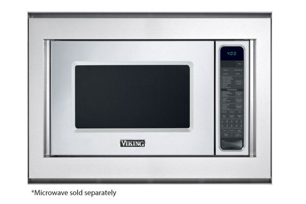 "Large image of Viking 30"" Flush Mount Kit for Microwave Trim - PMF307TKSS"