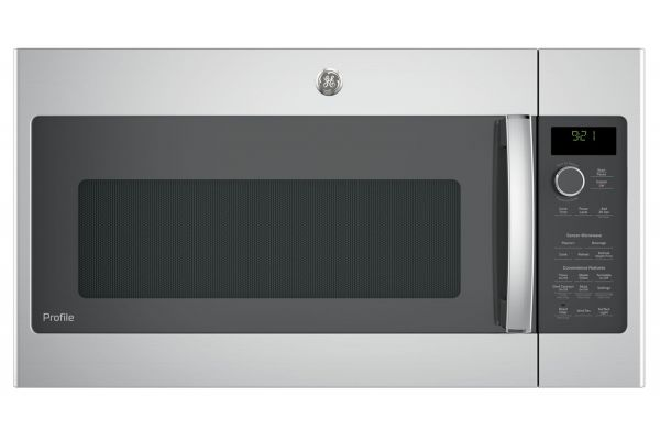 Large image of GE Profile Stainless Steel Over-The-Range Microwave Oven - PNM9216SKSS