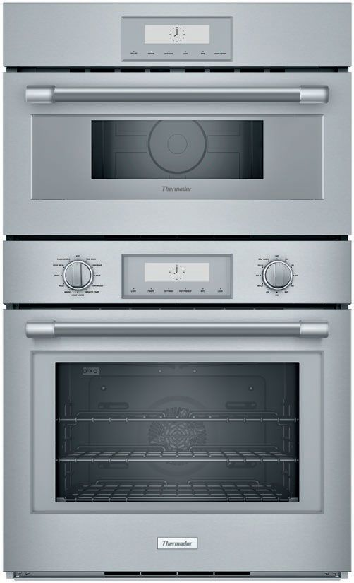 Thermador 30 Professional Series Stainless Steel Double Built In Oven Pom301w