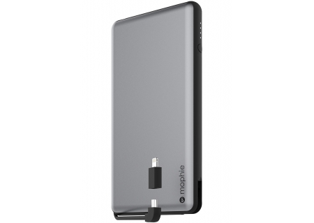 mophie Powerstation Plus XL Black Universal External Battery - 3462_PSPLUS-12K-2N1-SGRY-BLK