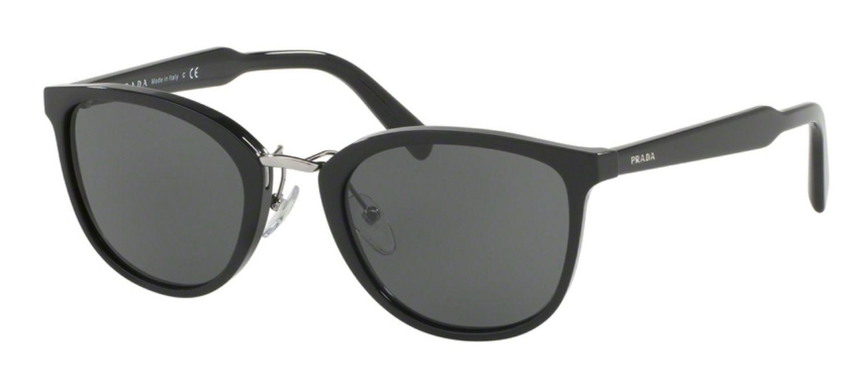 Prada Phantos Black Mens Sunglasses Pr 22ss 1ab1a1 52