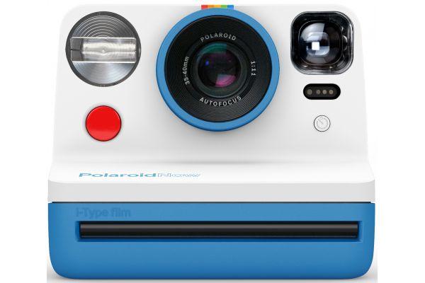 Large image of Polaroid Now Blue i-Type Instant Film Camera - PRD9030