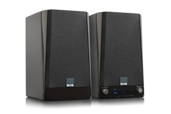 Large image of SVS Piano Gloss Black Prime Wireless Speaker System (Pair) - PRIMEWIRELESSSYS