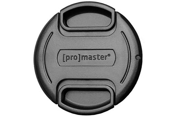 Large image of ProMaster Black 40.5mm Professional Snap-On Lens Cap - PRO1394
