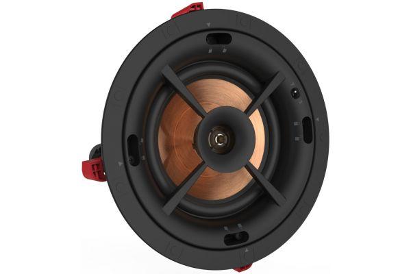 """Large image of Klipsch 6.5"""" Black In Ceiling Speaker - 1063966"""
