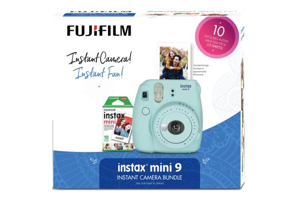 Fujifilm Instax Mini 9 Ice Blue Holiday Bundle - PRO3097