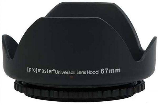 Large image of ProMaster Universal Lens Hood 67 mm - PRO4183