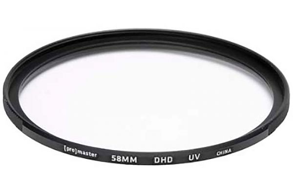 Large image of ProMaster Digital HD 58mm Ultraviolet Filter - PRO4299