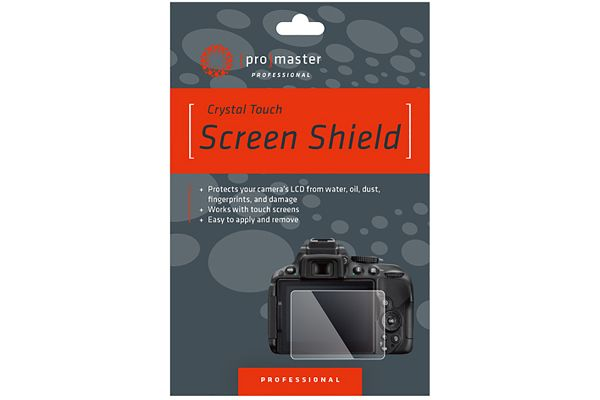 Large image of ProMaster Crystal Touch Screen Shield For Canon EOS Rebel - PRO4331