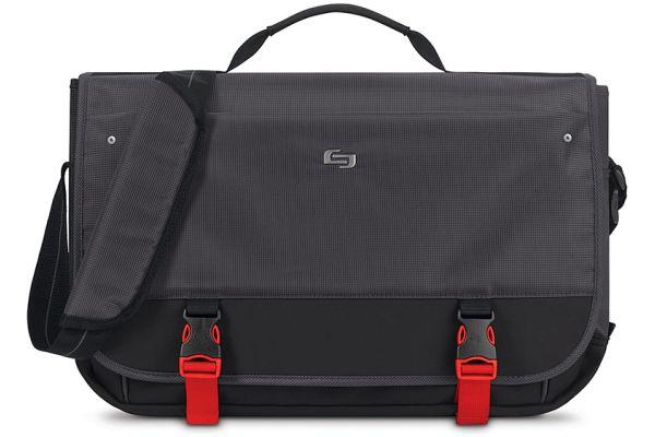 Large image of SOLO Pro Aegis Messenger Laptop Shoulder Bag - PRO500-4