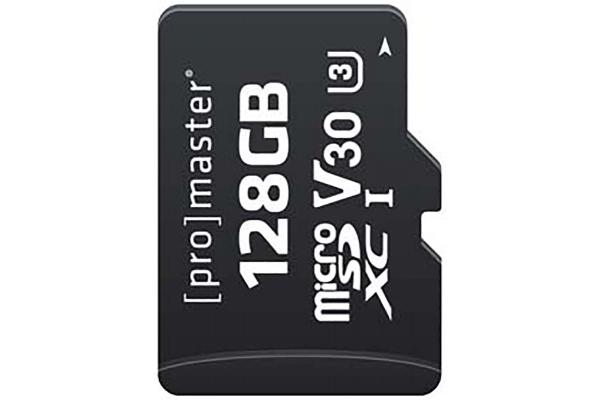 Large image of ProMaster Performance 2.0 128GB Micro SDXC Memory Card - PRO7283
