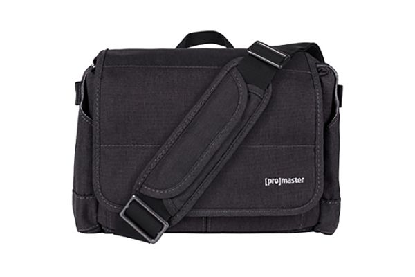Large image of ProMaster Charcoal Grey Cityscape 120 Courier Bag - PRO7881