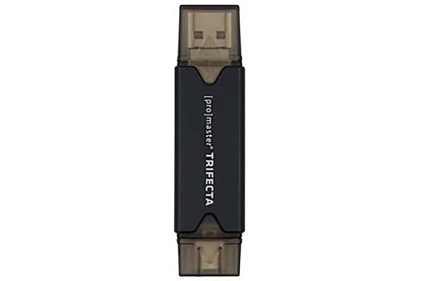 Large image of ProMaster Trifecta Card Reader SD & Micro SD - PRO7962
