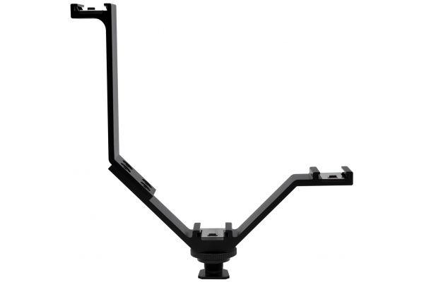 """Large image of ProMaster 6.5"""" Triple Hot Shoe Bracket - PRO8644"""