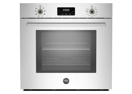"Bertazzoni 30"" Stainless Steel Single Convection Wall Oven  - PROFS30XV"