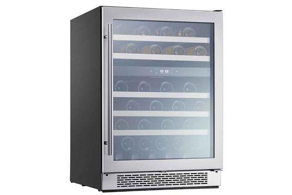 "Large image of Zephyr Presrv 24"" Stainless Frame Dual Zone Wine Cooler - PRW24C02BG"