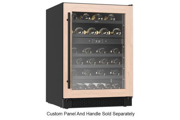 "Large image of Zephyr 24"" Custom Frame Dual Zone Wine Cooler - PRW24C02BPG"