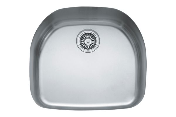Large image of Franke Undermount Stainless Single Bowl Sink - PRX11021
