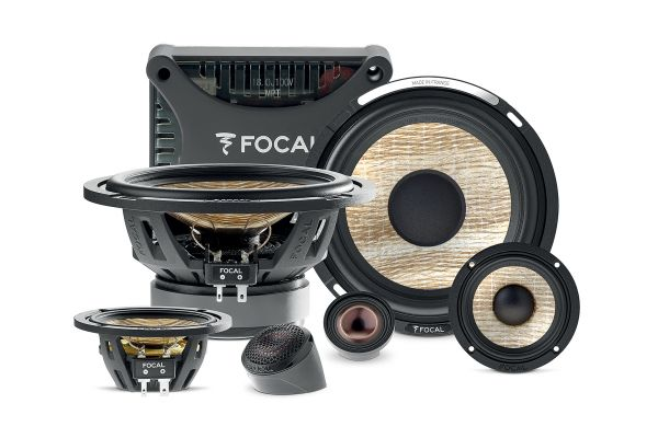 """Focal FLAX EVO 6.5"""" 3-Way Component Kit (Pair) - PS165F3E"""
