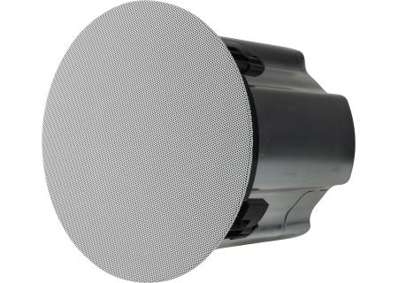 """Sonance Professional Series White 6.5"""" In-Ceiling Low Profile Speakers - 40182"""