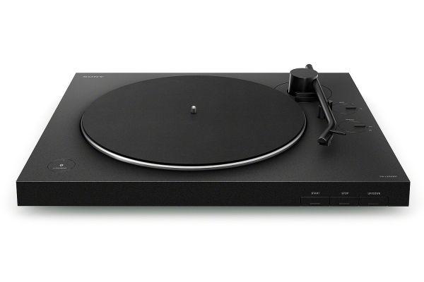 Large image of Sony Black Wireless Turntable - PSLX310BT