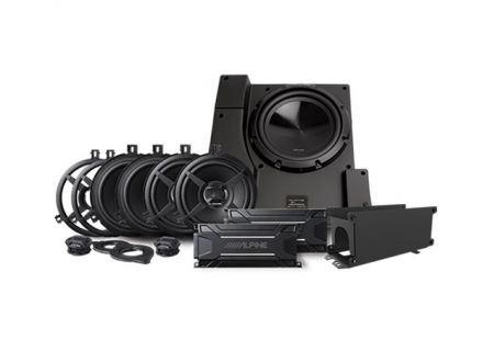 Alpine Weather Resistant Packaged Sound System For Jeep Wrangler 2015-2018 (Pair) - PSS-22WRA