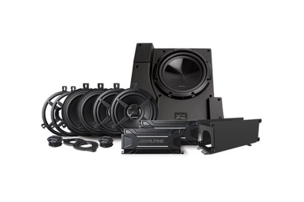 Large image of Alpine Weather Resistant Packaged Sound System For Jeep Wrangler 2015-2018 (Pair) - PSS-22WRA