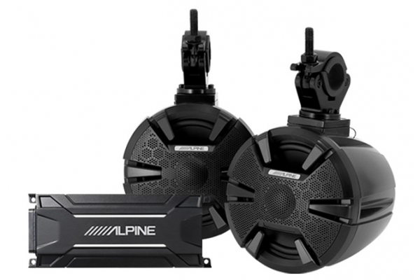 Large image of Alpine Weather-Resistant Side-by-Side Sound System - PSS-SX01