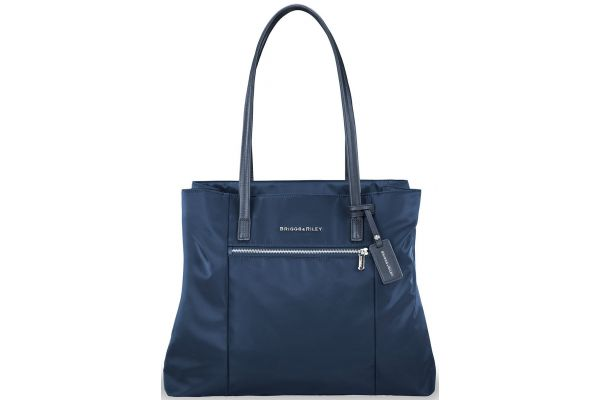 Large image of Briggs & Riley Navy Rhapsody Essential Tote - PT123-5