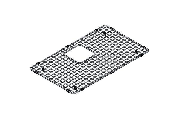 Large image of Franke Stainless Steel Sink Grid - PT28-36S