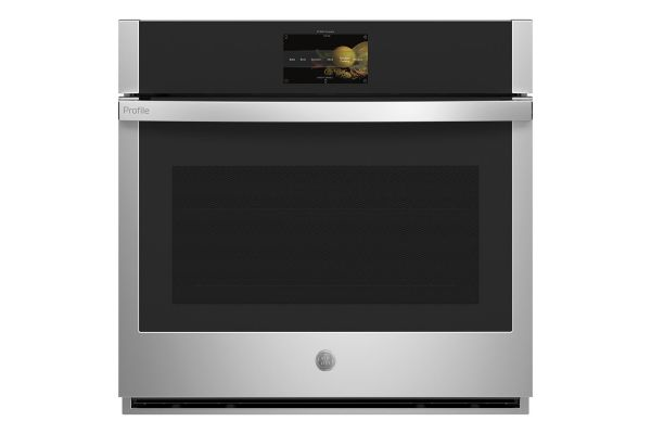 """Large image of GE Profile Series 30"""" Stainless Steel Built-In Convection Single Wall Oven - PTS7000SNSS"""