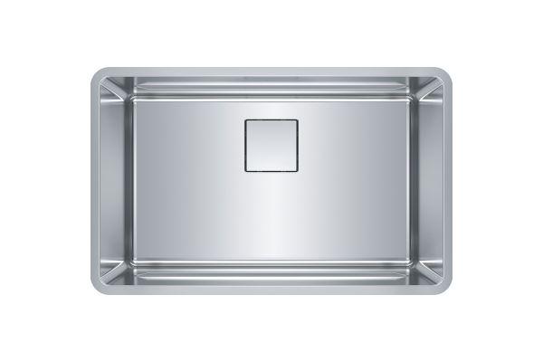 Large image of Franke Pescara Stainless Steel Kitchen Sink - PTX110-28