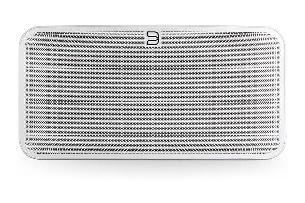 Large image of Bluesound PULSE MINI 2i White Compact Wireless Multi-Room Music Streaming Speaker - PULSE MINI 2I WH
