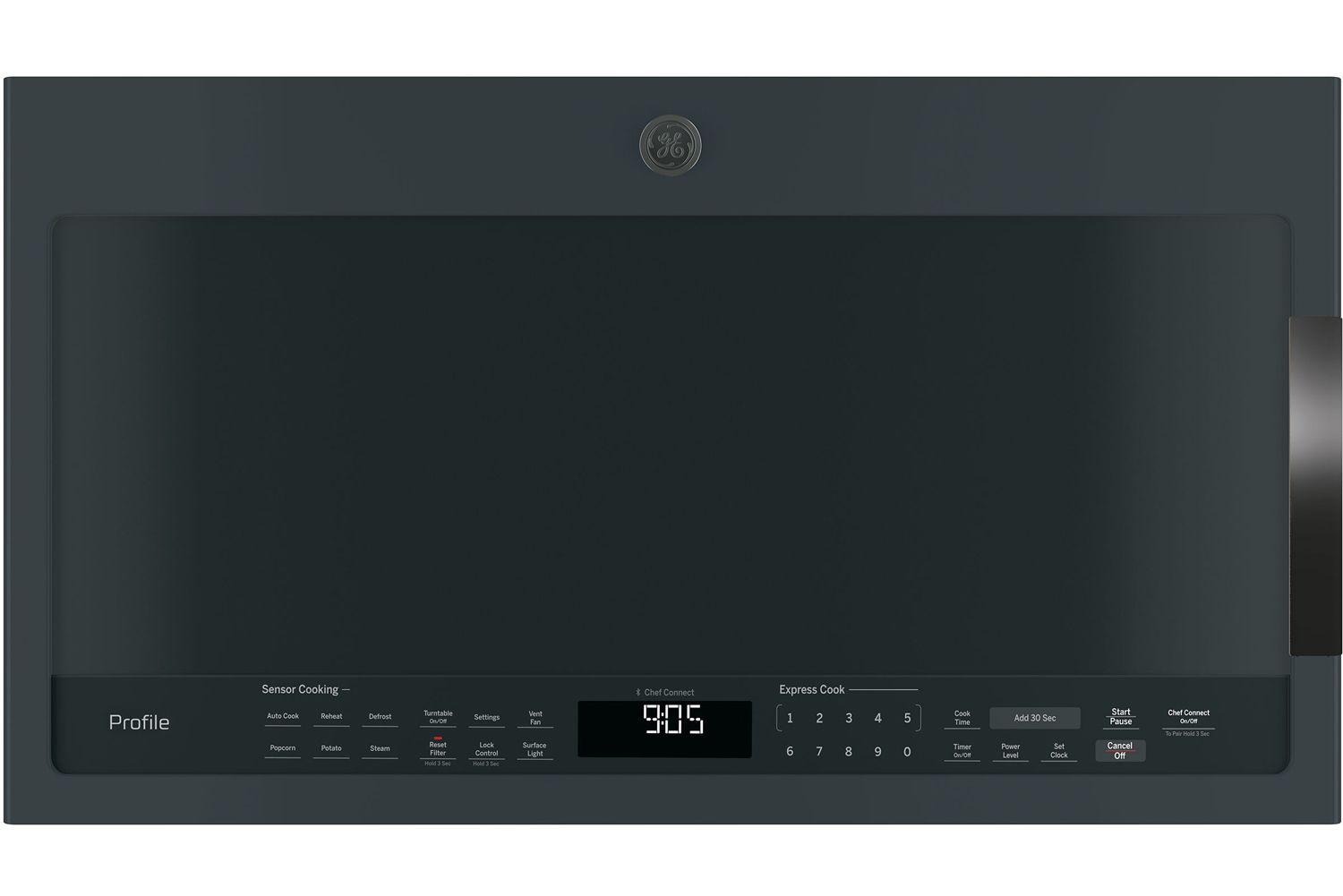 Ge Profile 2 1 Cu Ft Over The Range Microwave Oven