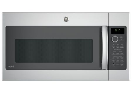 GE Profile Stainless Steel Over-The-Range Convection Microwave Oven - PVM9179SKSS