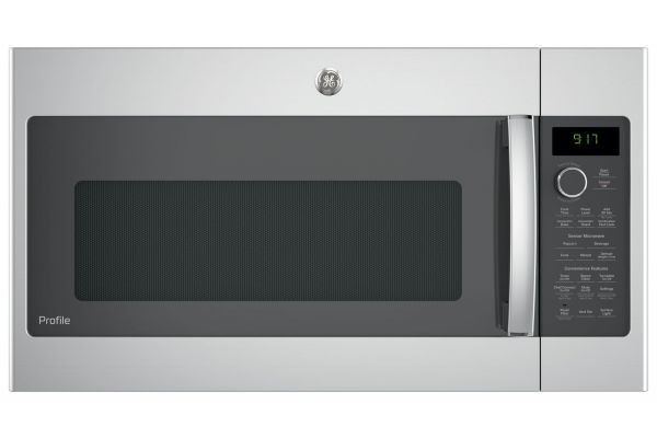 Large image of GE Profile Stainless Steel Over-The-Range Convection Microwave Oven - PVM9179SKSS