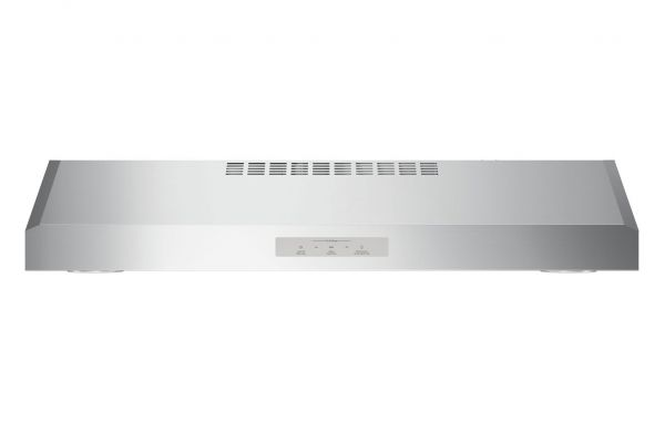 "Large image of GE Profile 30"" Stainless Steel Under Cabinet Wall Hood - PVX7300SJSS"