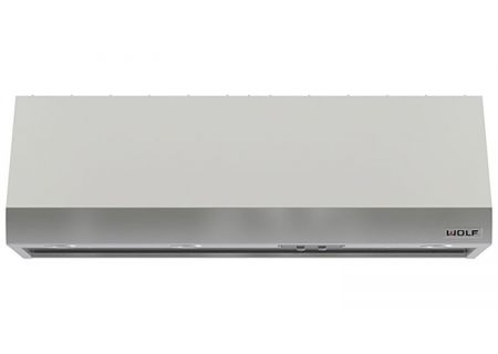 "Wolf 54"" Pro Stainless Steel Wall Hood - PW542418"