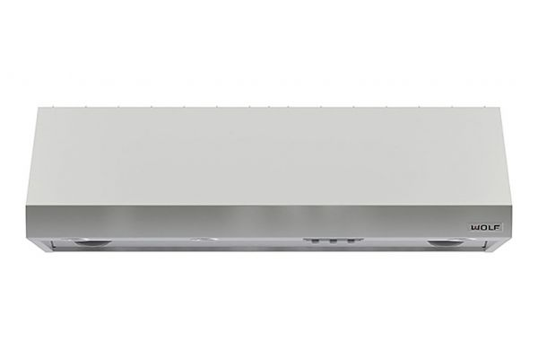 """Large image of Wolf 60"""" Stainless Steel 27"""" Depth Pro Wall Hood - PW602718"""