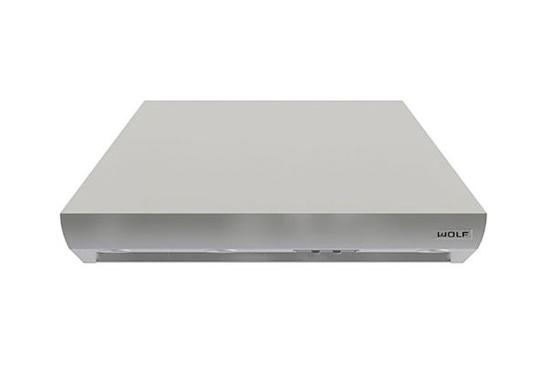 """Large image of Wolf 48"""" Pro Stainless Steel Wall Chimney Hood - PWC482418"""
