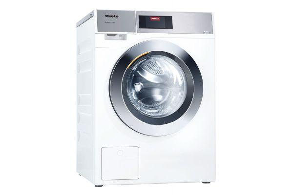 """Large image of Miele 24"""" White Front Loading Washing Machine - 11204460"""